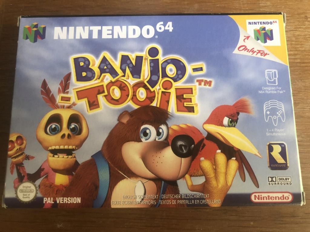 Doute sur authenticité de boite - Banjo-Tooie - Nintendo 64  Img_7112