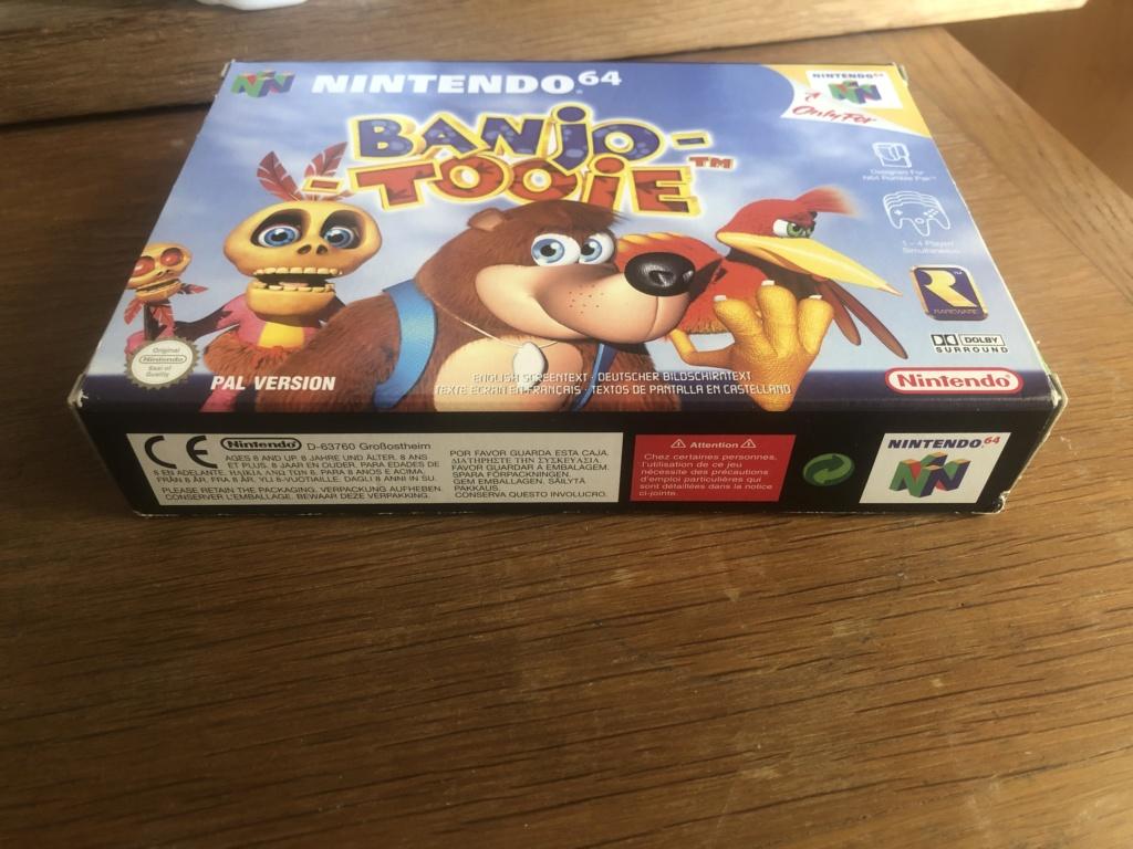 Doute sur authenticité de boite - Banjo-Tooie - Nintendo 64  Img_7113