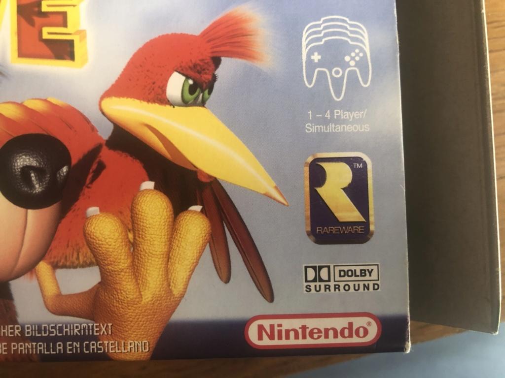 Doute sur authenticité de boite - Banjo-Tooie - Nintendo 64  Img_7118