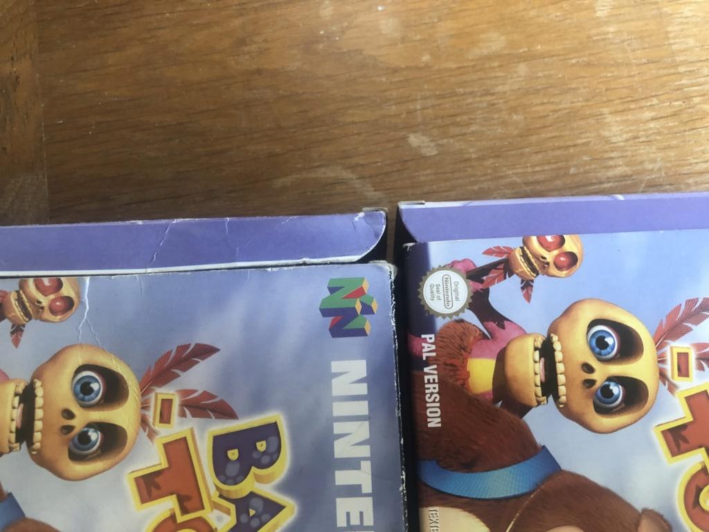 Doute sur authenticité de boite - Banjo-Tooie - Nintendo 64  Img_7120