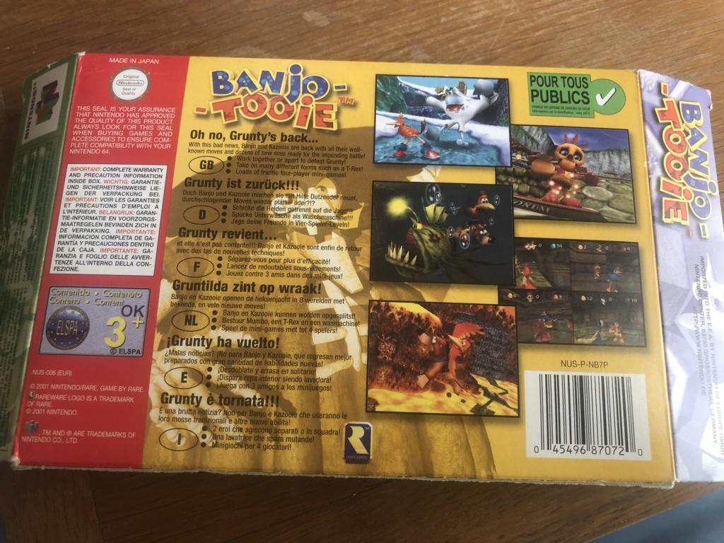 Doute sur authenticité de boite - Banjo-Tooie - Nintendo 64  Img_7121