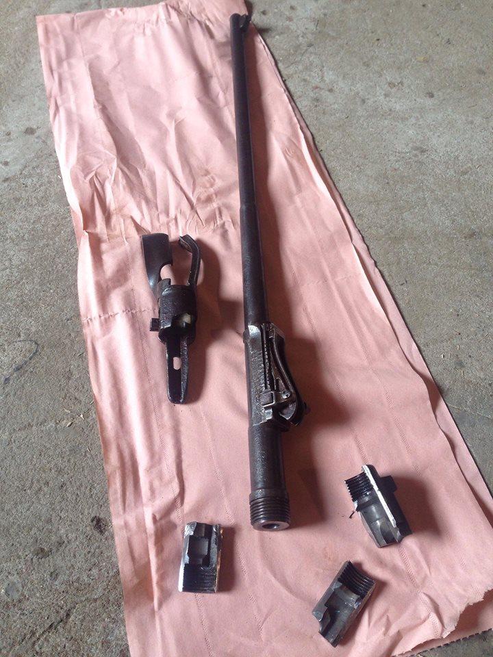 Démontage canon mauser K98 / G98 - Page 3 710
