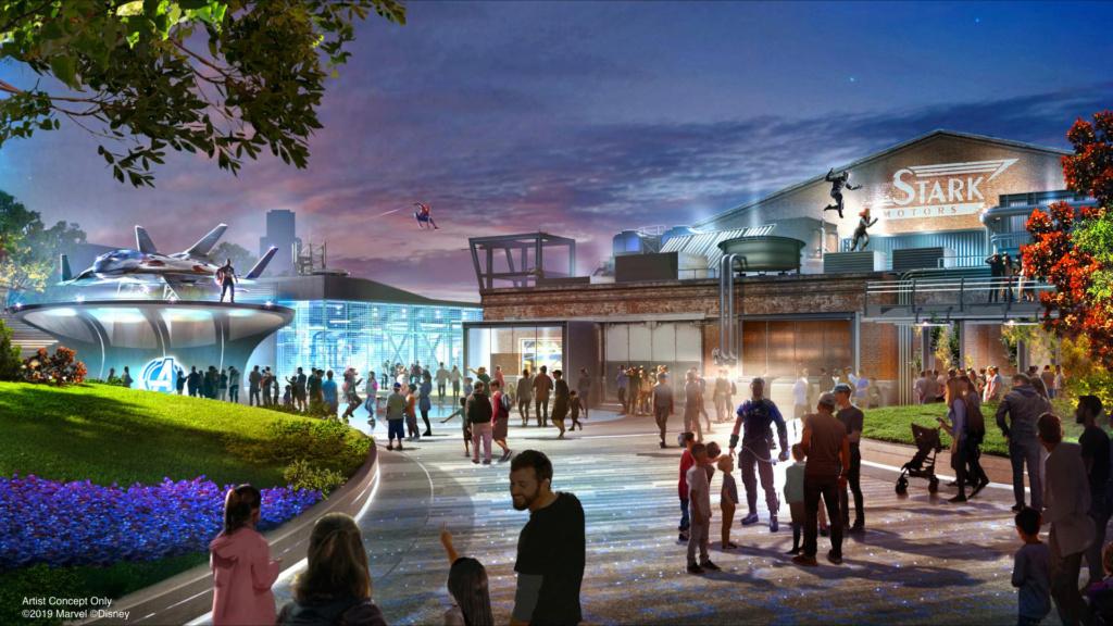 [Parc Walt Disney Studios] Avengers Campus (2021) > infos en page 1 Avenge11