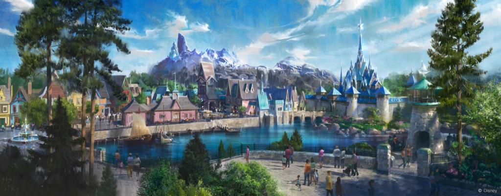 [Parc Walt Disney Studios] Nouvelle zone La Reine des Neiges  (202?) > infos en page 1 Img_2031