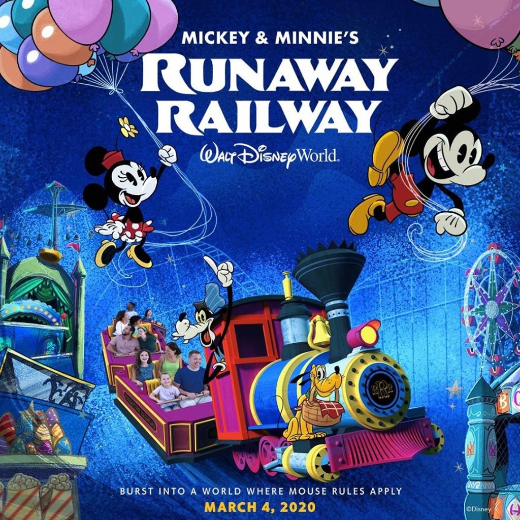 [Disney's Hollywood Studios] Mickey and Minnie's Runaway Railway (4 mars 2020) - Page 6 Img_2038