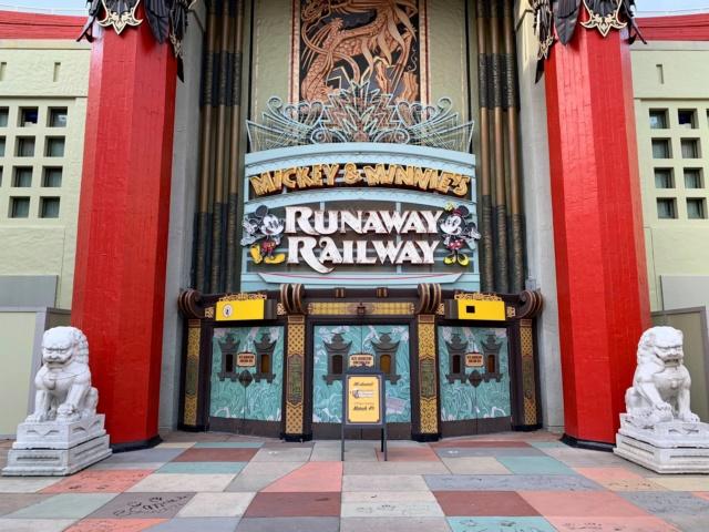 [Disney's Hollywood Studios] Mickey and Minnie's Runaway Railway (4 mars 2020) - Page 6 Img_2041