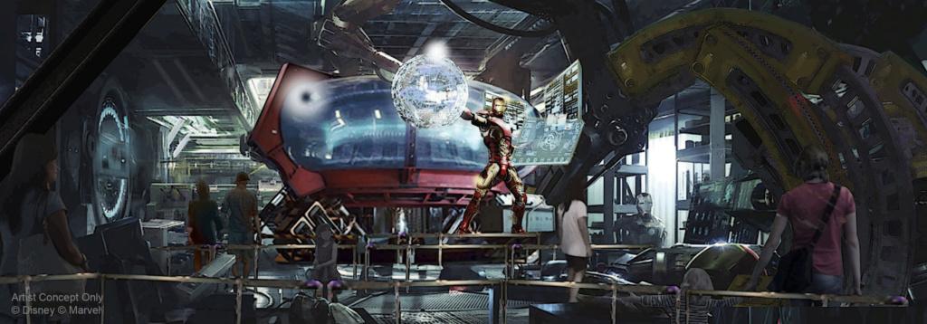 [Parc Walt Disney Studios] Avengers Campus (2021) > infos en page 1 Marvel11