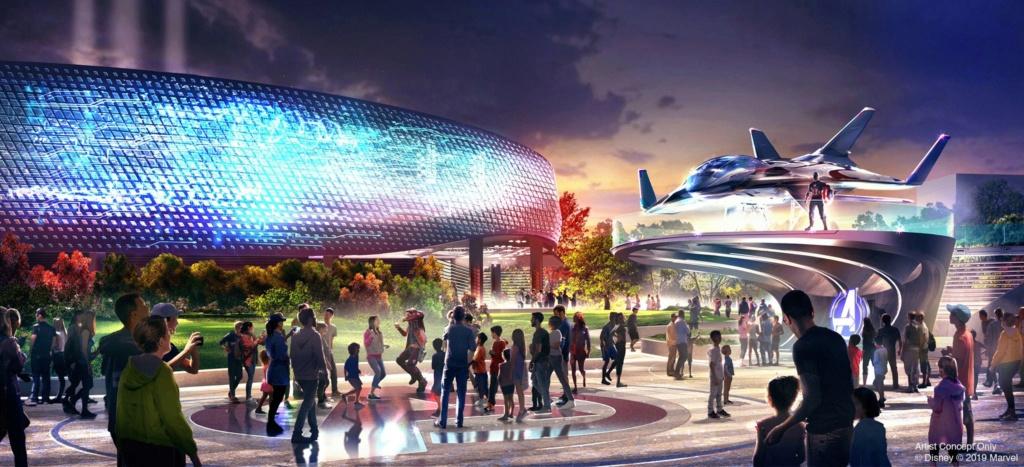 [Parc Walt Disney Studios] Avengers Campus (2021) > infos en page 1 Marvel13
