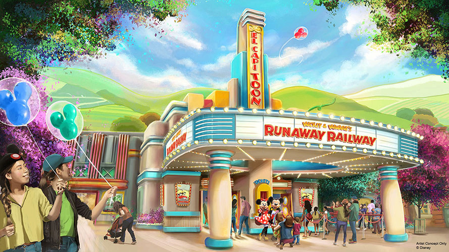 [Disneyland Park] Mickey and Minnie's Runaway Railway (2022) Mickey10