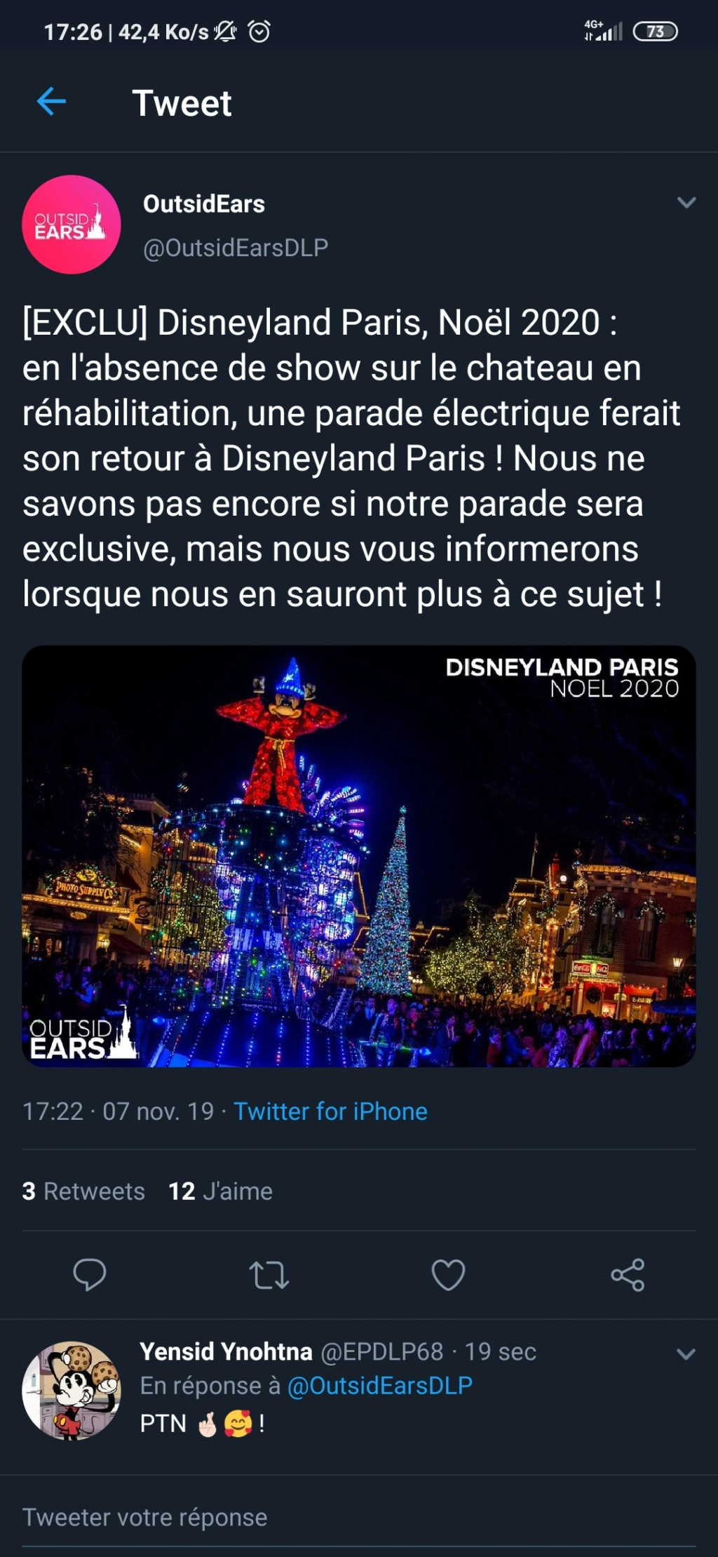 [Rumeur] Nouvelle parade nocturne au Disneyland Park en 2020 Screen10