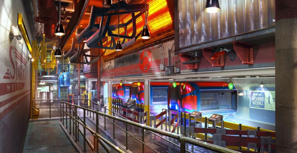 [Parc Walt Disney Studios] Avengers Campus (2021) > infos en page 1 Spider10