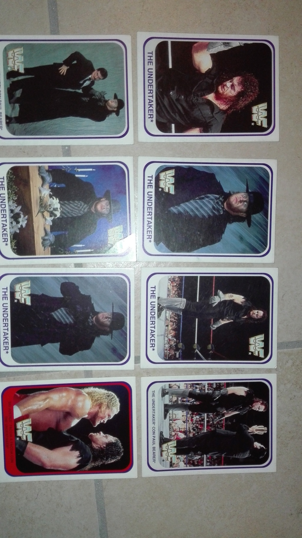 Collezione completa card wrestling merlin collection Img_2027