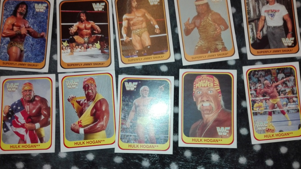 Collezione completa card wrestling merlin collection Img_2031