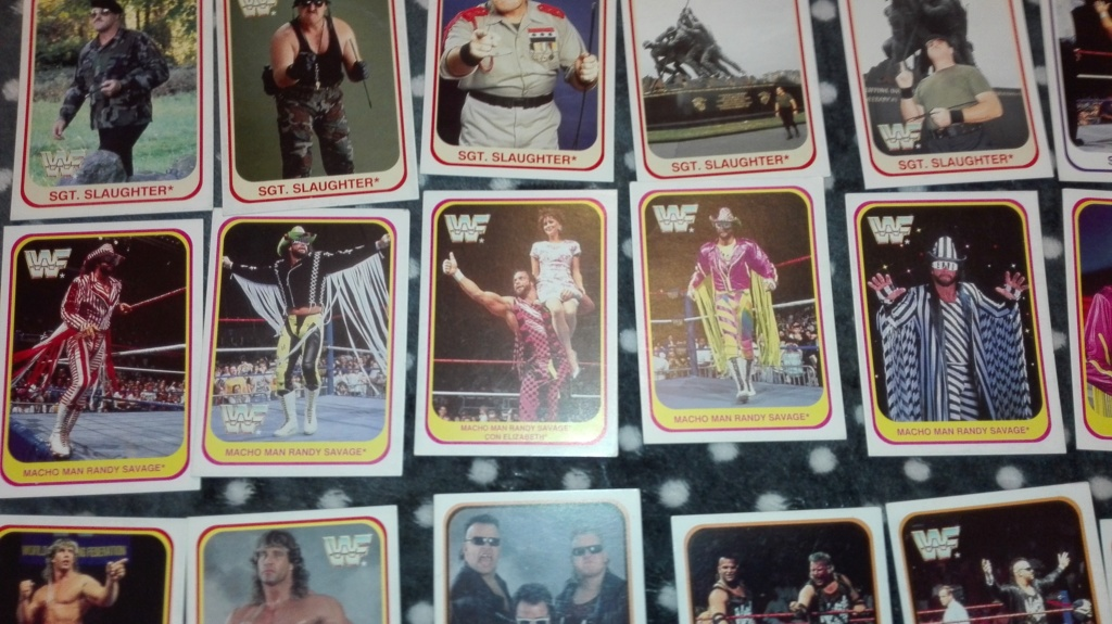 Collezione completa card wrestling merlin collection Img_2032