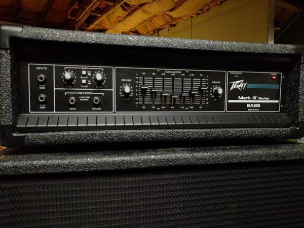 Cabeçote Peavey Mark Bass III 8020cc10