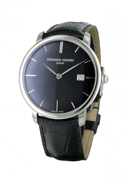 Frederique - monte habillée noire Perrelet classic, frédérique constant slimline  oris artix Freder11