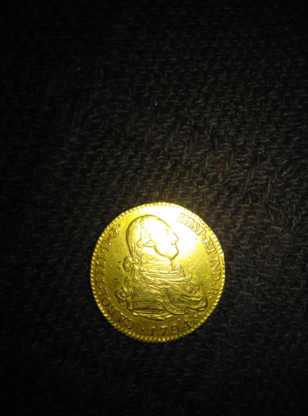 2 escudos 1794. Carlos IV. Madrid. Opinión 15364412
