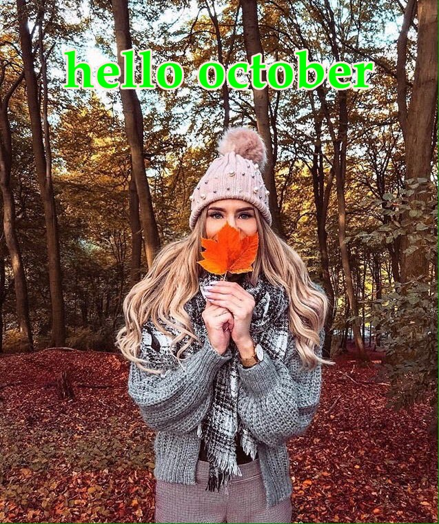 hello october Do6q2u10