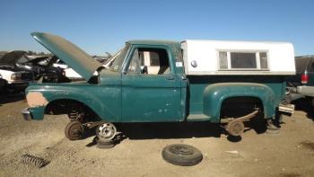 Moebius, 1966 Ford F100 Flareside! 00-19610
