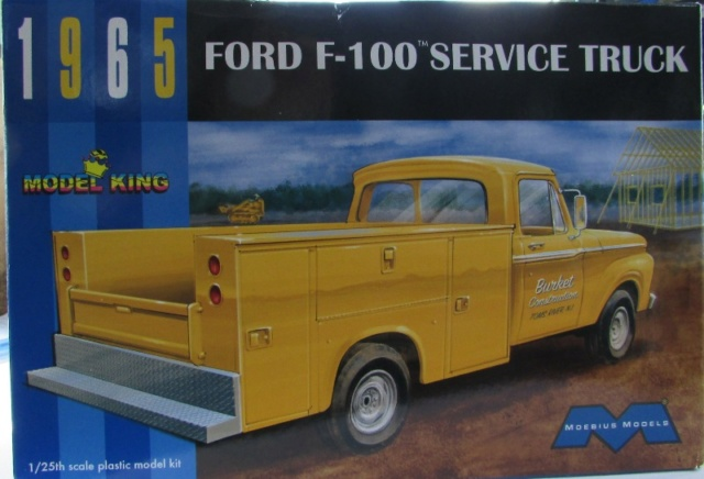 "Moebius-Model King 1965 Ford F100 ""Service Truck"" 00124"