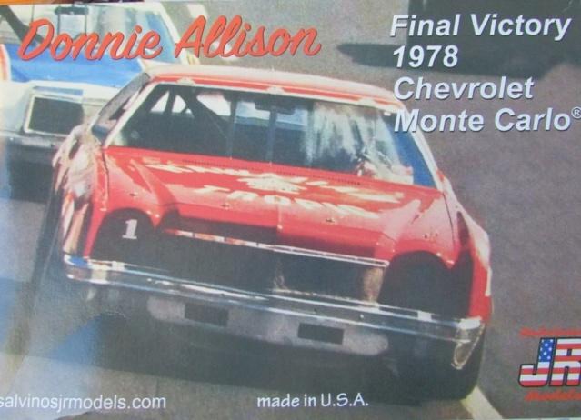 1978 Monte Carlo Nascar Hawain Tropic de Donnie Allison Salvinos Jr 00615