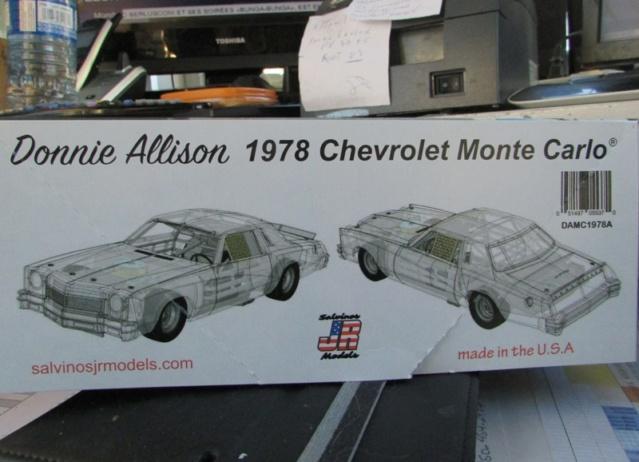 1978 Monte Carlo Nascar Hawain Tropic de Donnie Allison Salvinos Jr 00816