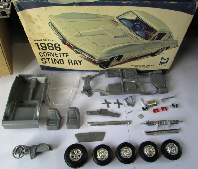 1966 Corvette Stingray! MPC , terminé  01413