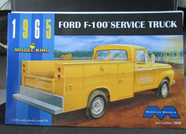 "Moebius-Model King 1965 Ford F100 ""Service Truck"" 03411"
