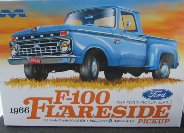 Moebius, 1966 Ford F100 Flareside! 05711