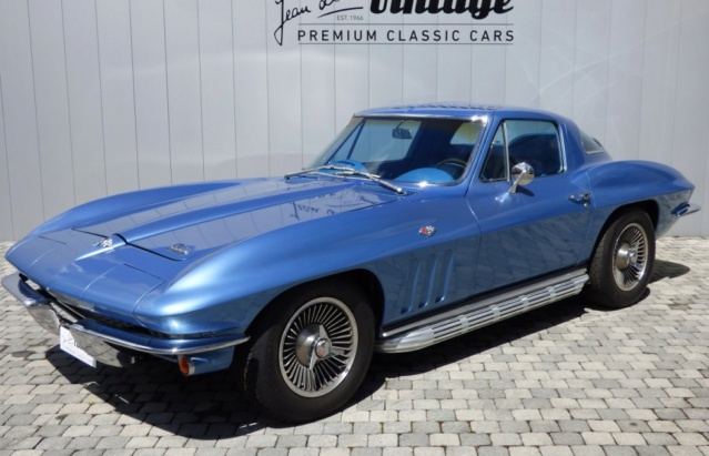 1966 Corvette Stingray! MPC , terminé  1-13-910