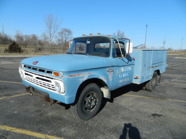 "Moebius-Model King 1965 Ford F100 ""Service Truck"" 1966-f12"