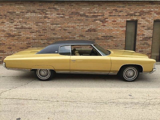 1971 Chevrolet Impala Custom coupe, (Restauration) 95f57510