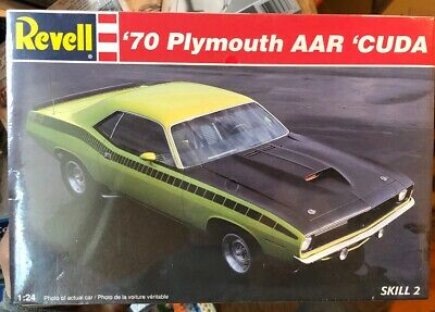 Revue du kit de la Barracuda AAR 1970 !  Revell10