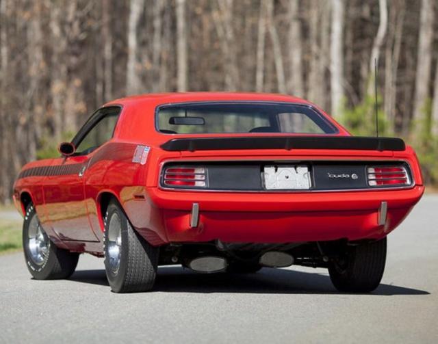La Barracuda AAR 1970! REVELL  Sc051711