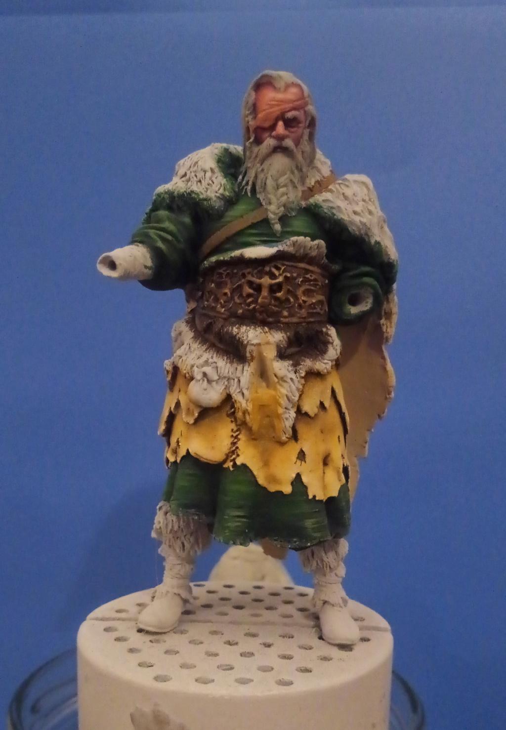 Guerrier viking - masterclass- 75mm - Terminé P_201278