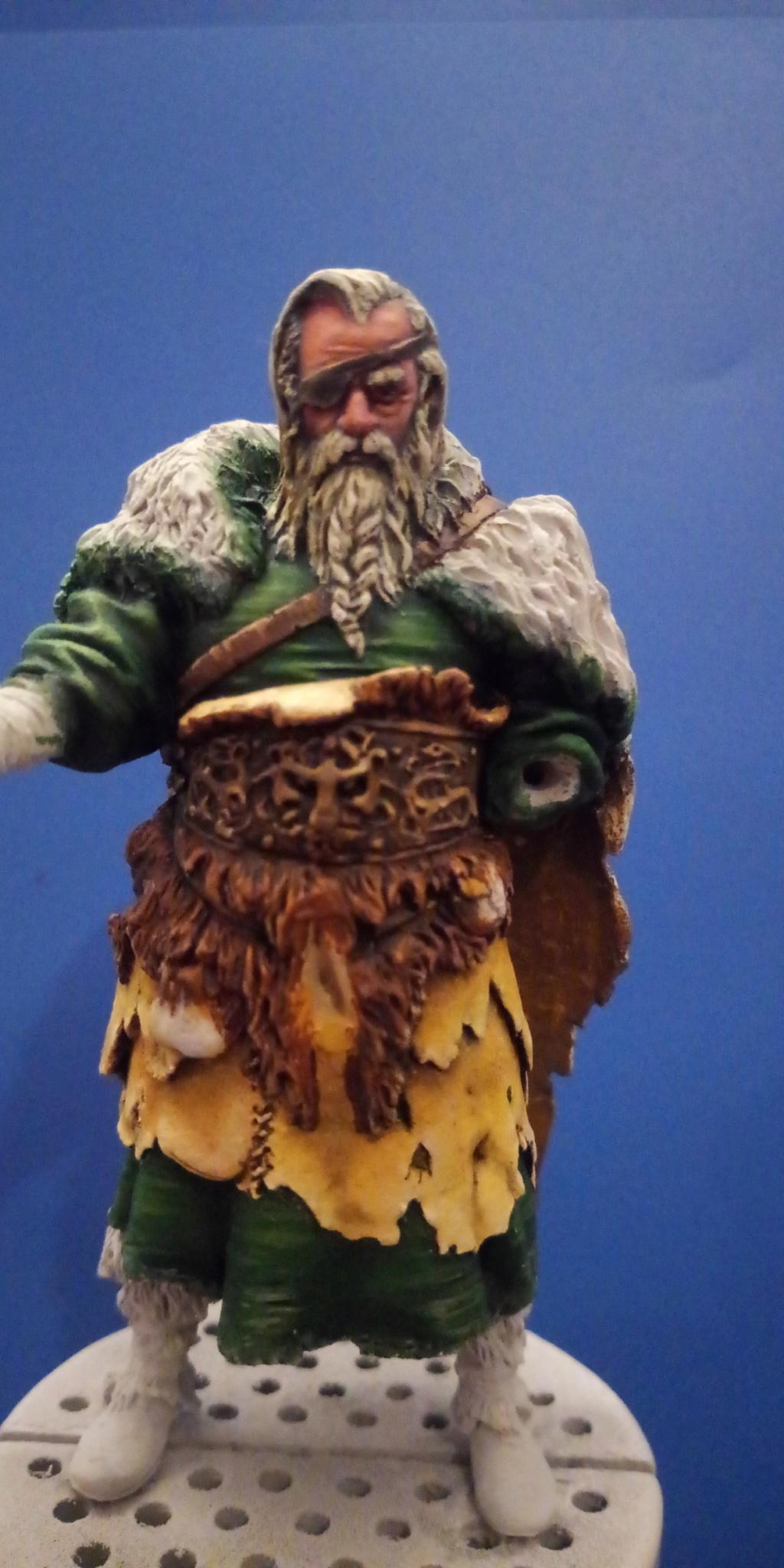 Guerrier viking - masterclass- 75mm - Terminé P_201284
