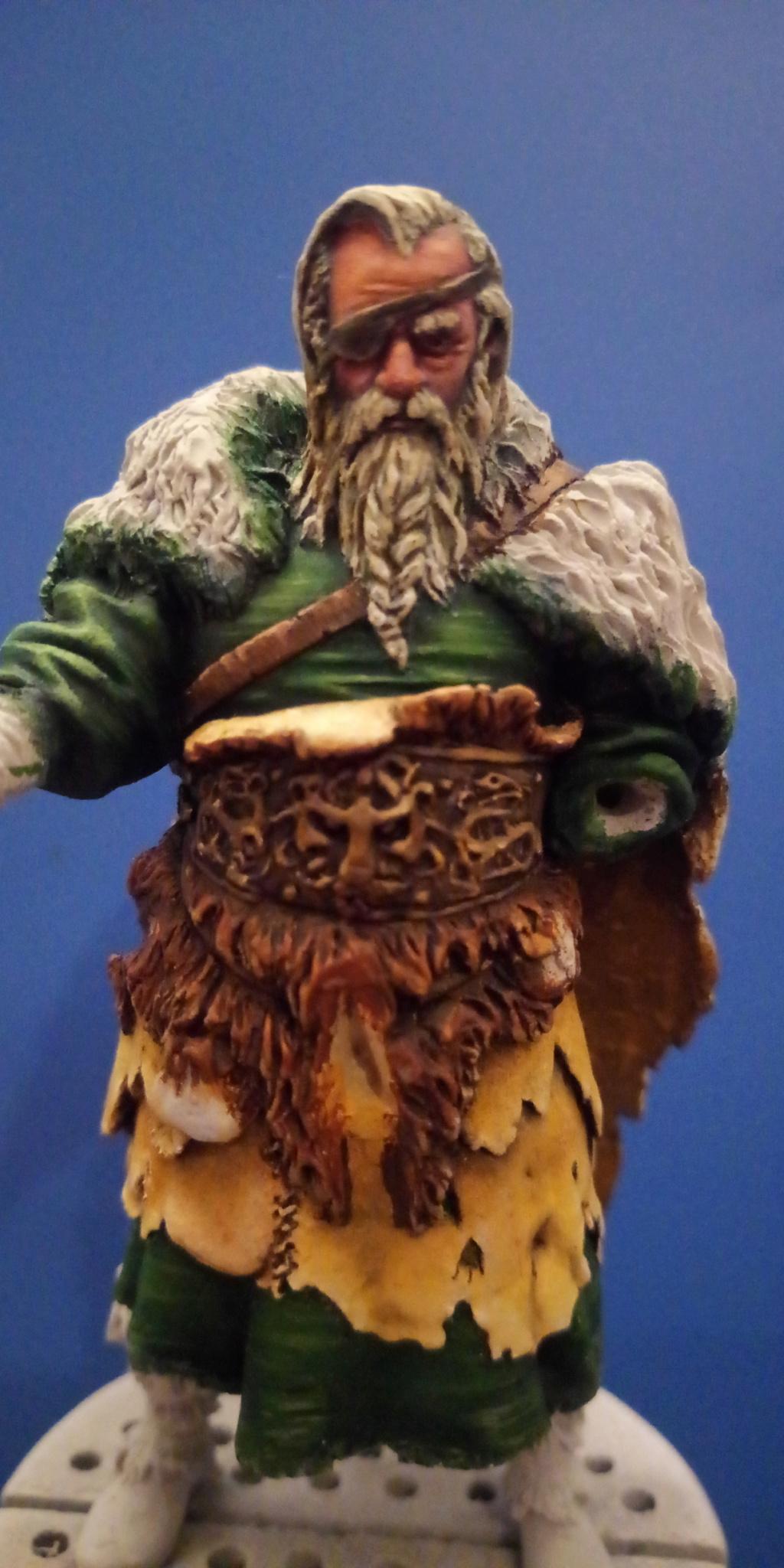 Guerrier viking - masterclass- 75mm - Terminé P_201286