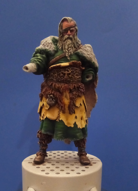 Guerrier viking - masterclass- 75mm - Terminé P_201293