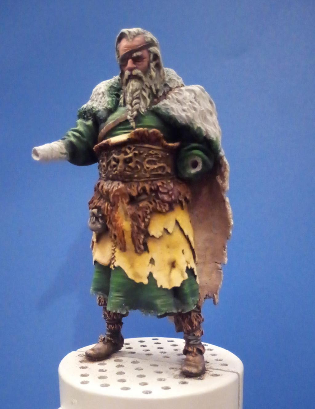 Guerrier viking - masterclass- 75mm - Terminé P_201295