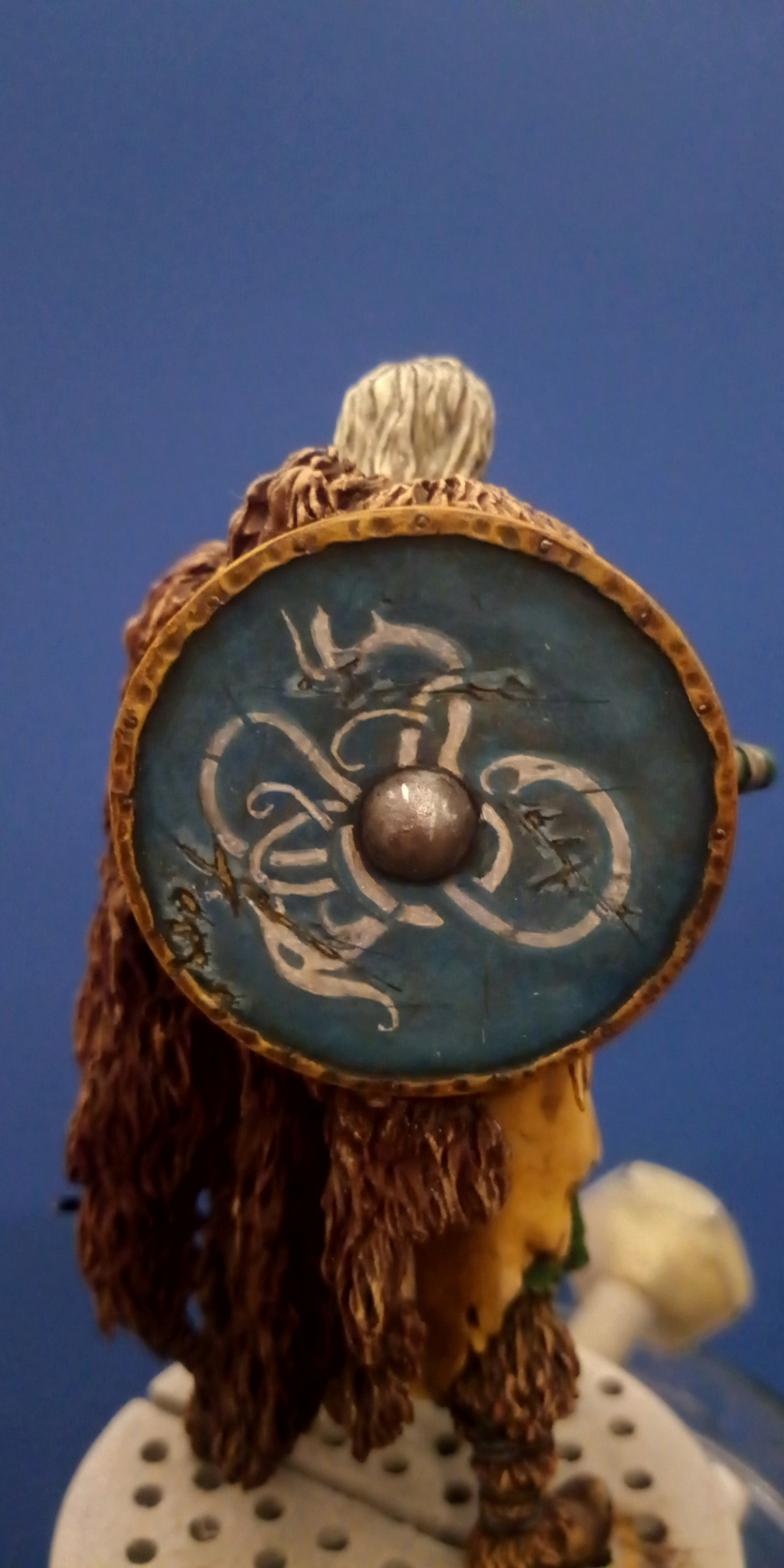 Guerrier viking - masterclass- 75mm - Terminé - Page 2 P_201316