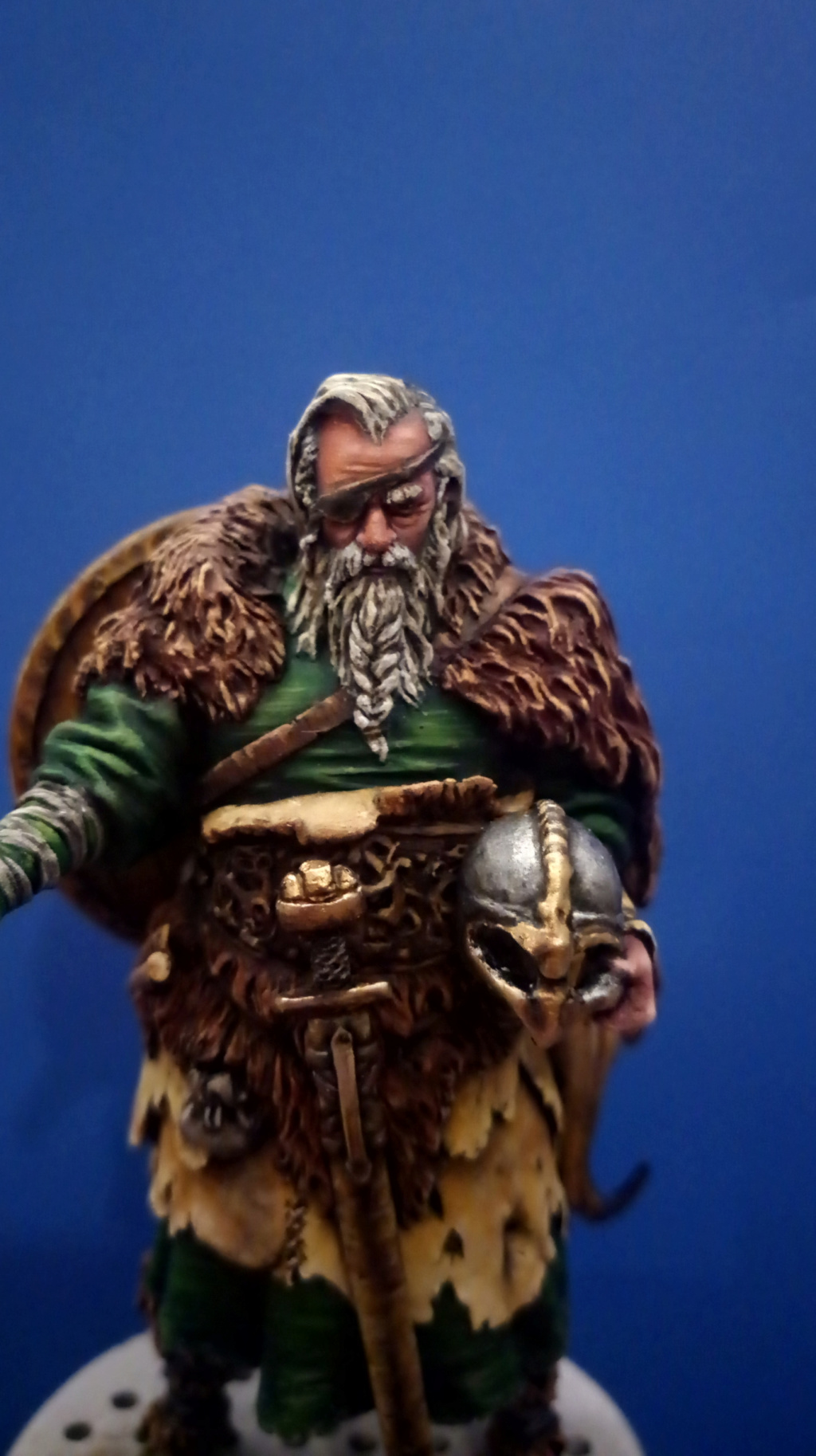 Guerrier viking - masterclass- 75mm - Terminé - Page 2 P_201318