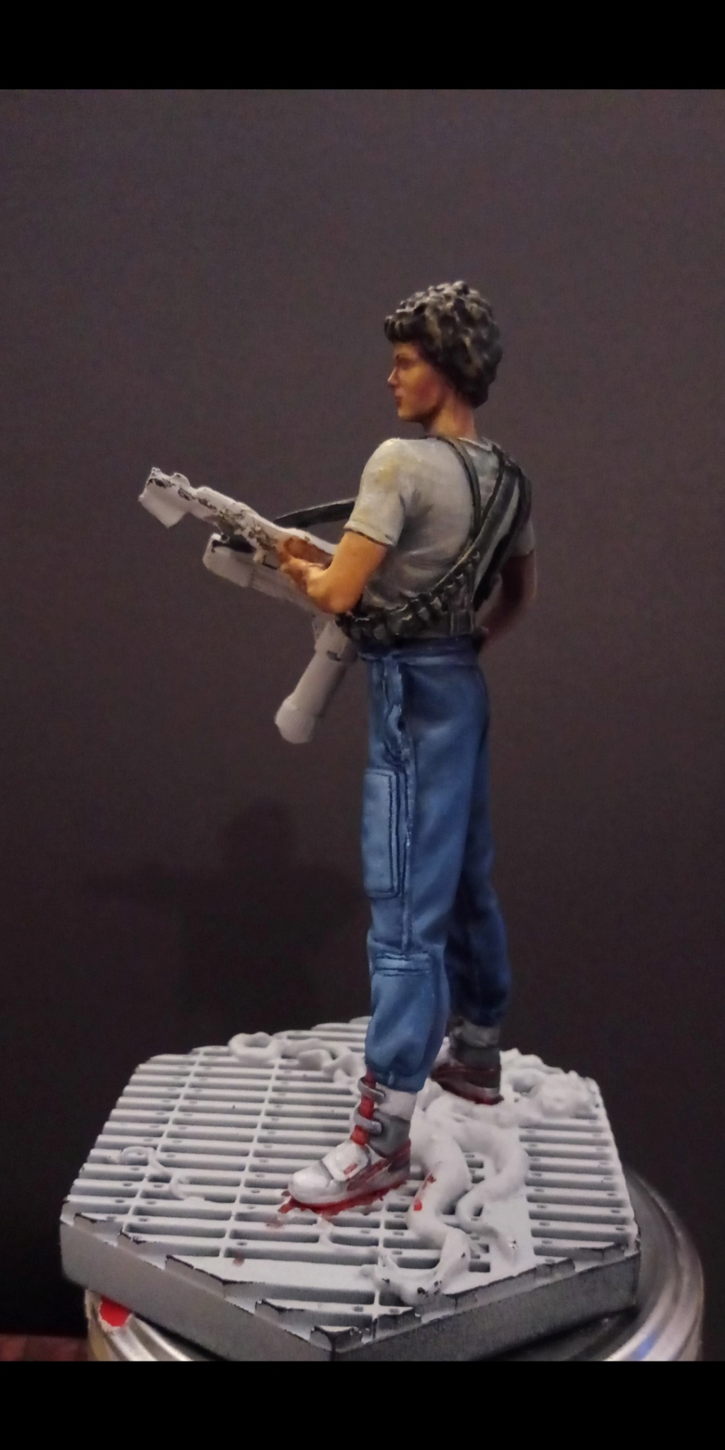 Lieutenant RIPLEY- Aliens -Eaglemoss Scree101
