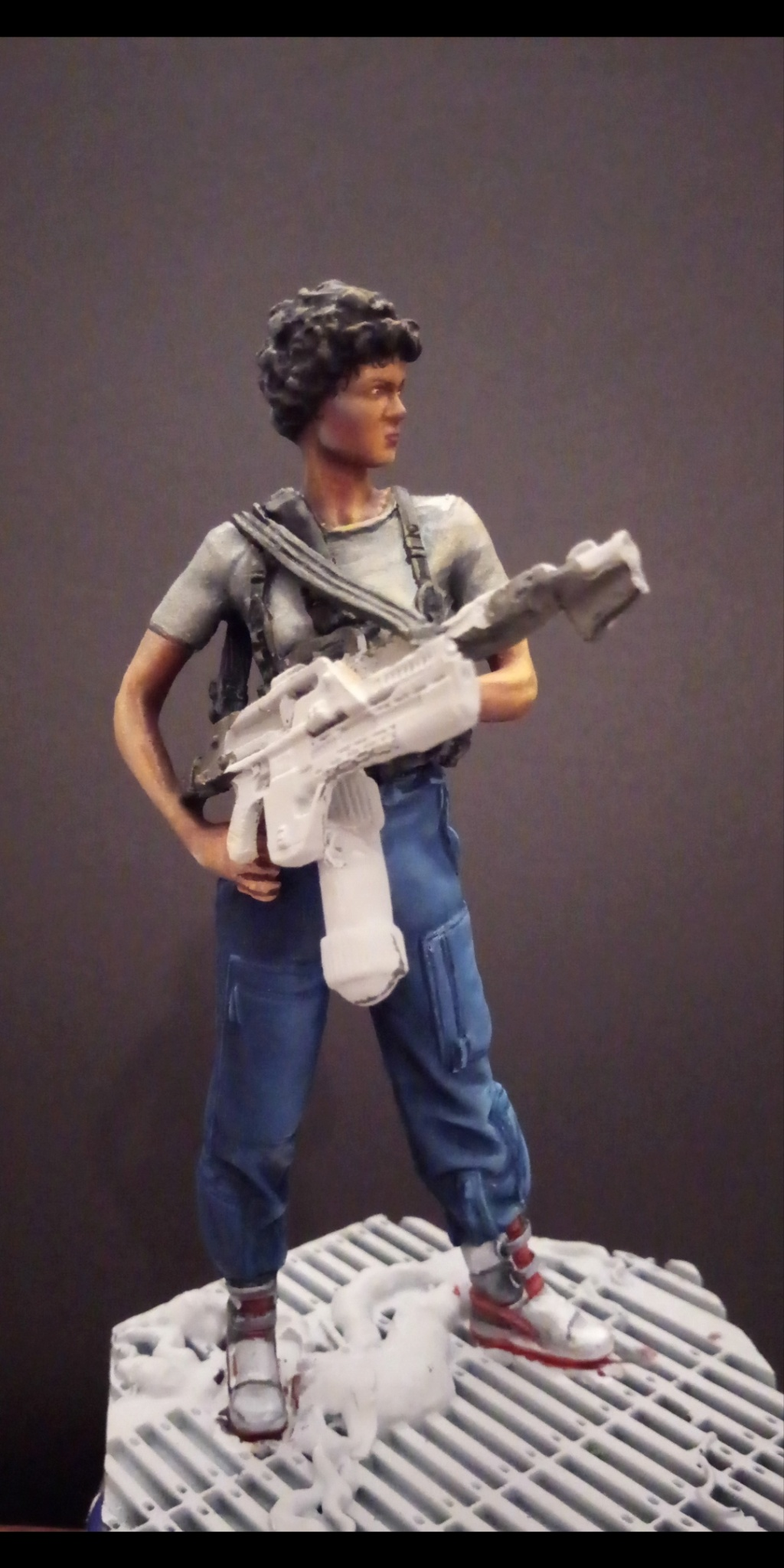 Lieutenant RIPLEY- Aliens -Eaglemoss Scree103