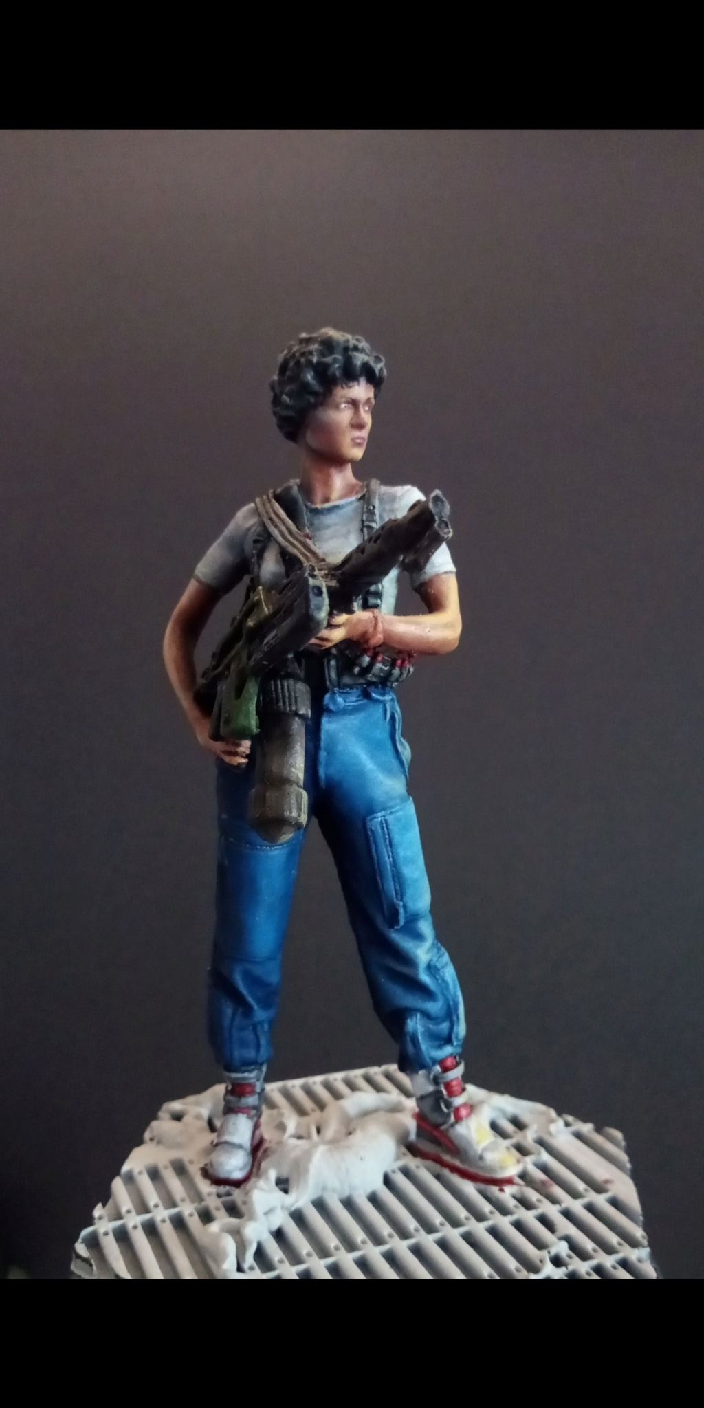Lieutenant RIPLEY- Aliens -Eaglemoss Scree108