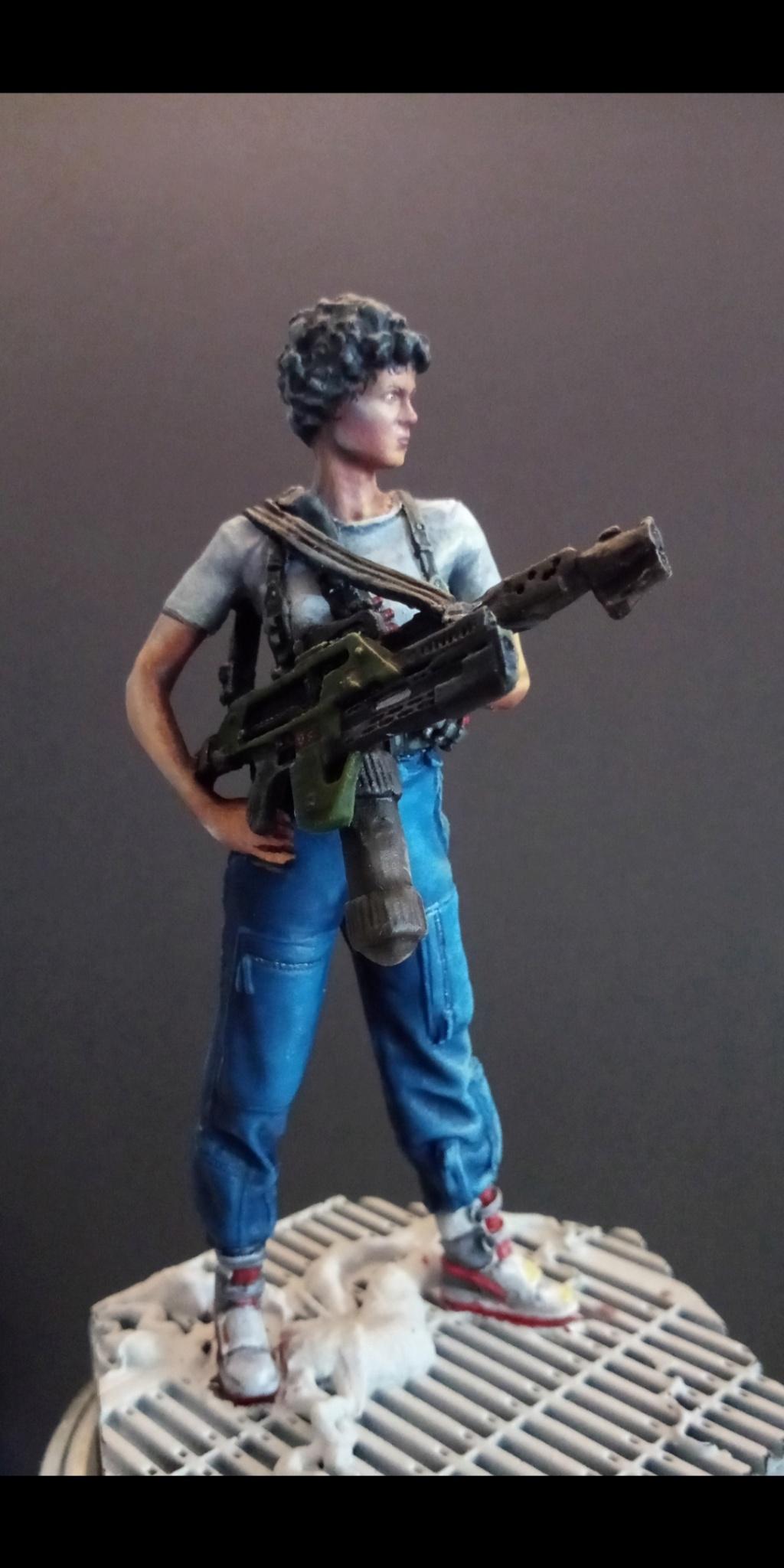 Lieutenant RIPLEY- Aliens -Eaglemoss Scree110