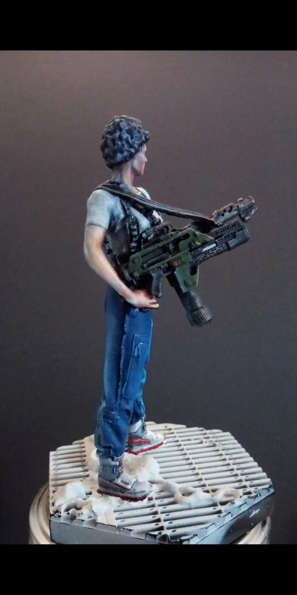 Lieutenant RIPLEY- Aliens -Eaglemoss Scree113