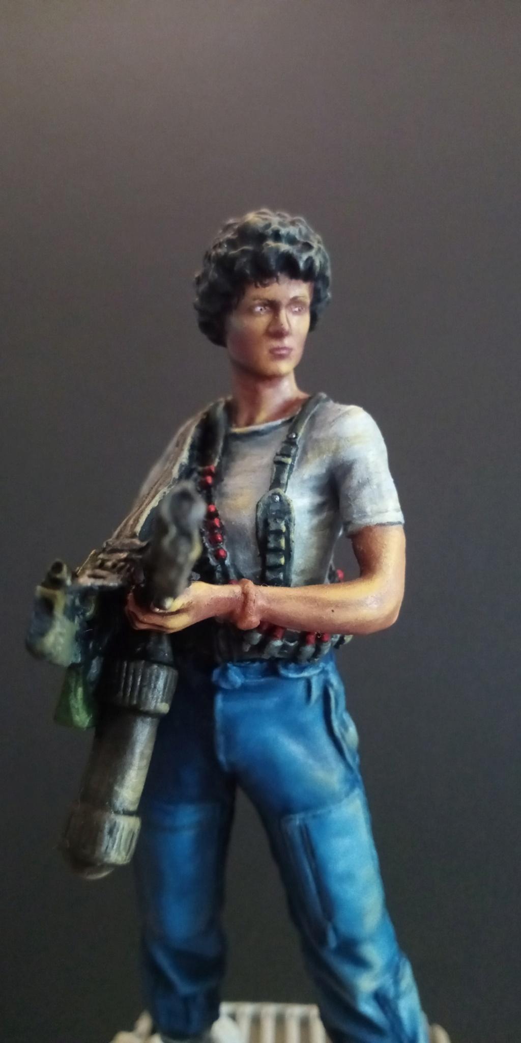 Lieutenant RIPLEY- Aliens -Eaglemoss Scree114