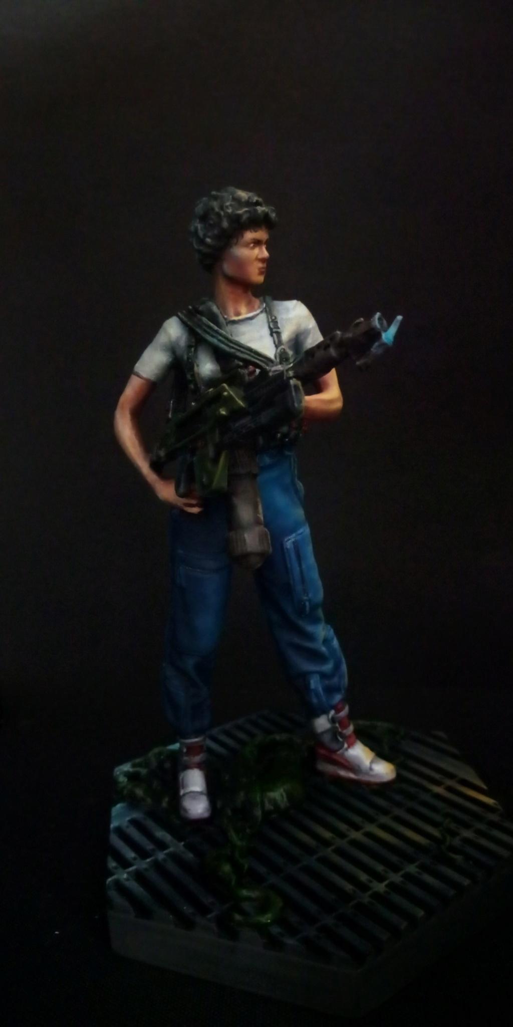 Lieutenant RIPLEY- Aliens -Eaglemoss Scree144