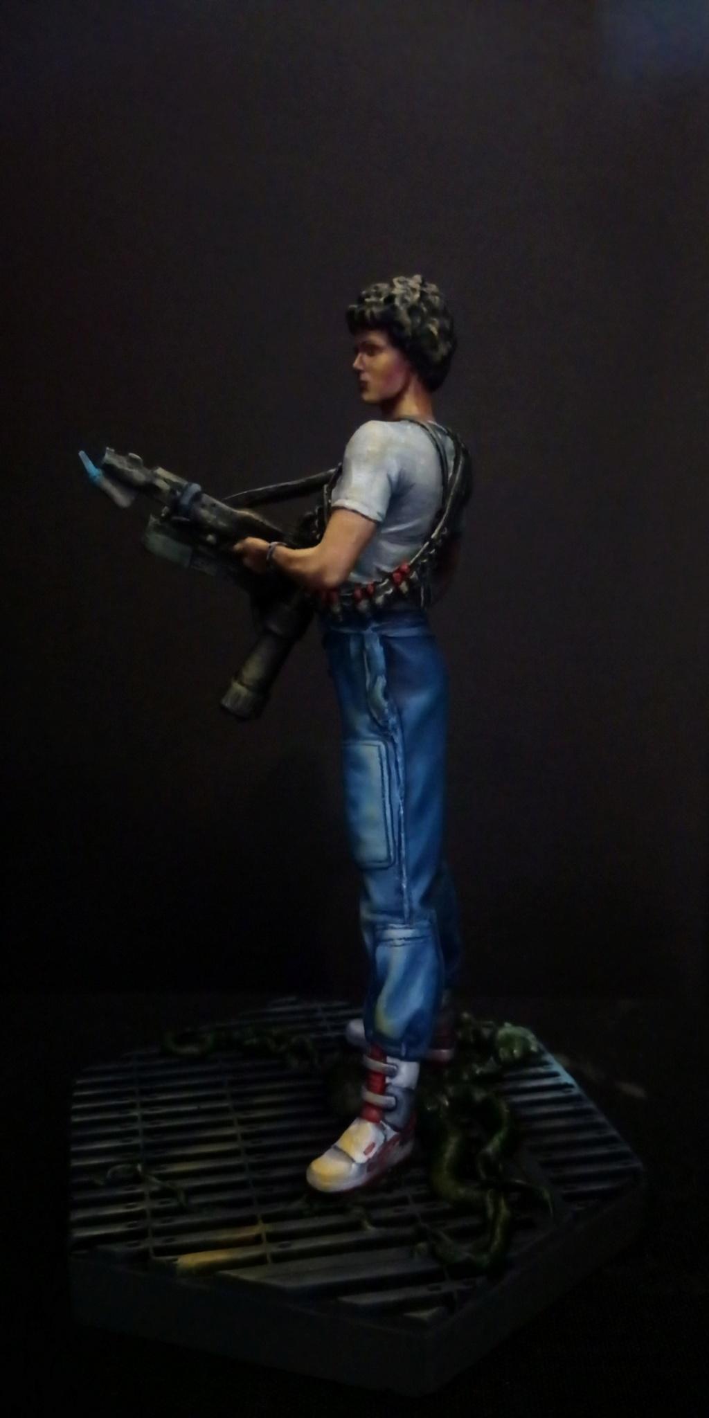 Lieutenant RIPLEY- Aliens -Eaglemoss Scree148