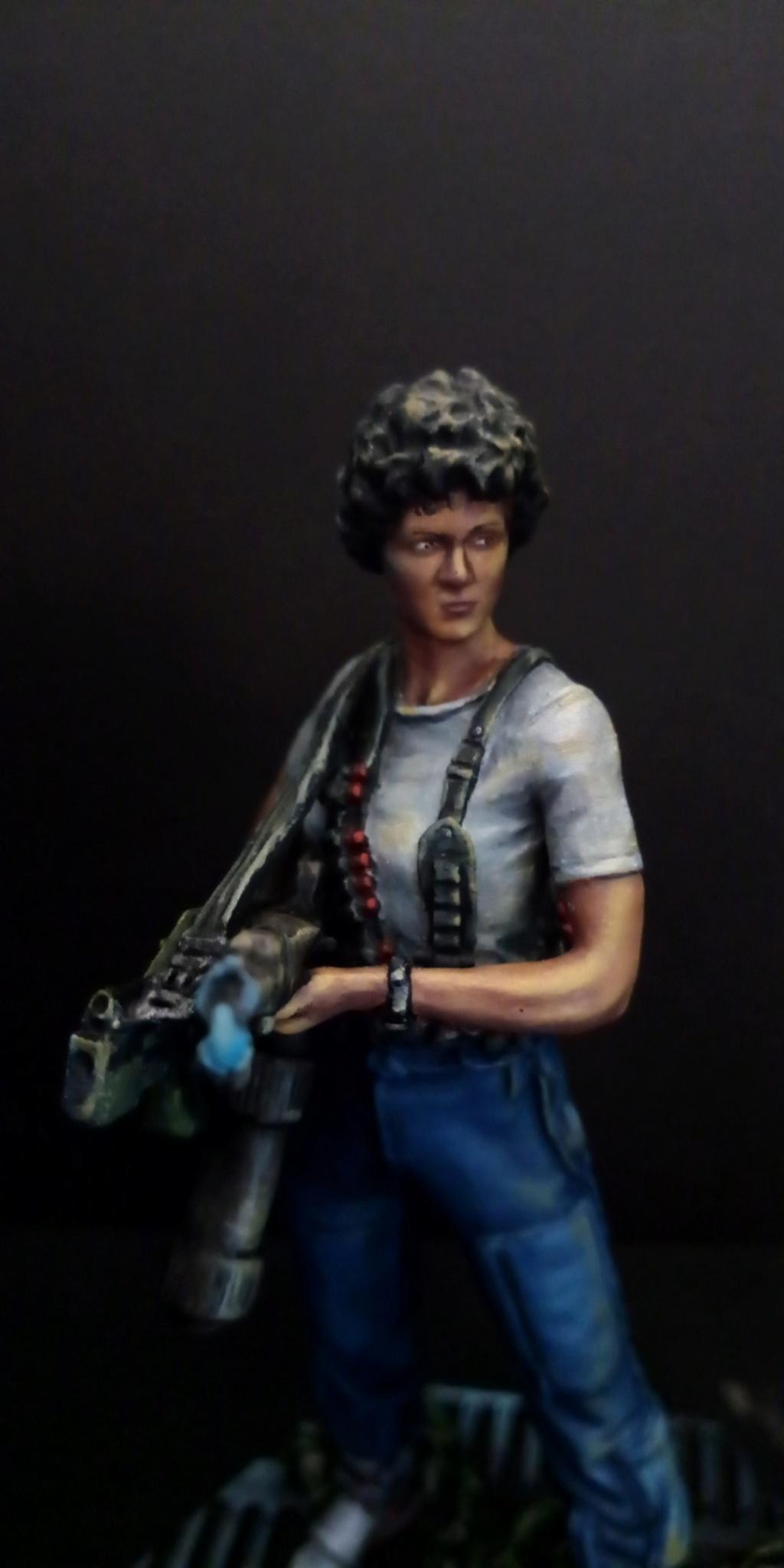 Lieutenant RIPLEY- Aliens -Eaglemoss Scree149